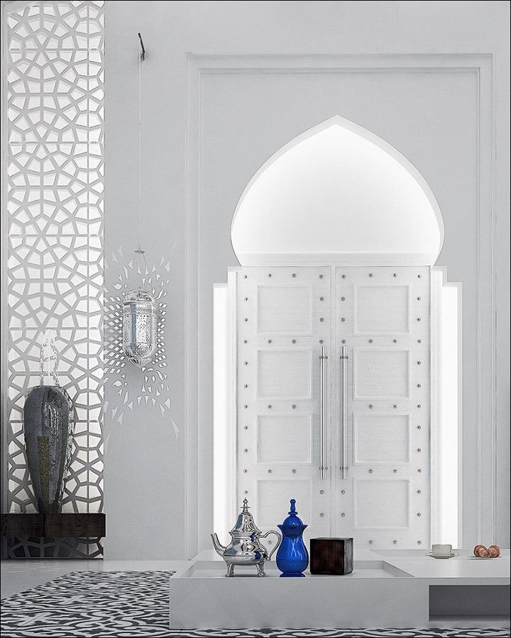el estilo arabe casa