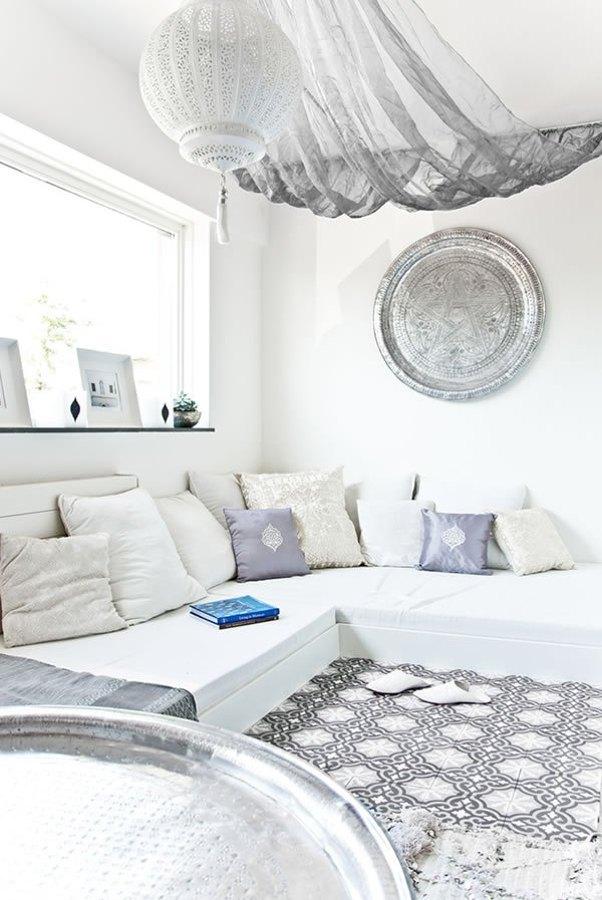decoracion arabe blanca