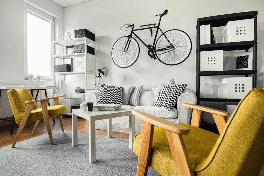 4 ideas para ahorrar espacio si eres deportista ideas. Black Bedroom Furniture Sets. Home Design Ideas