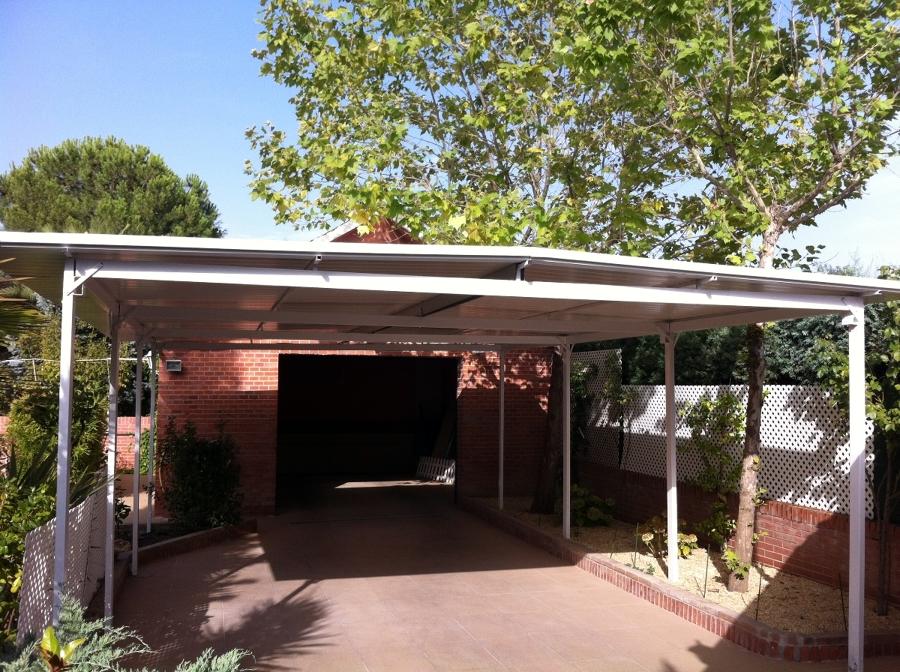 Cubricion de garaje con panel sandwich ideas - Casas de panel sandwich ...