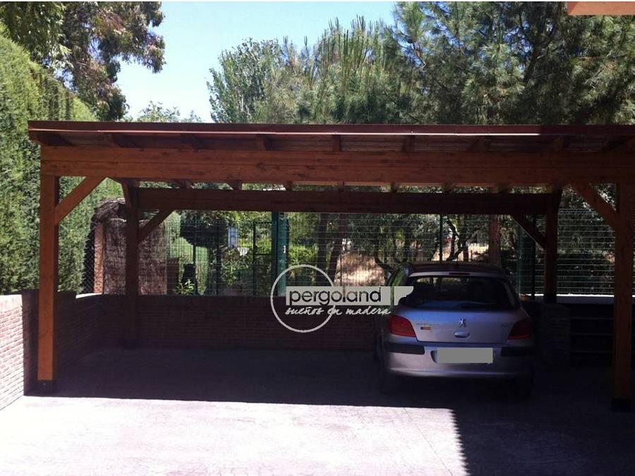 Foto garaje para dos vehiculos de pergoland s l 464580 - Garaje de coches ...