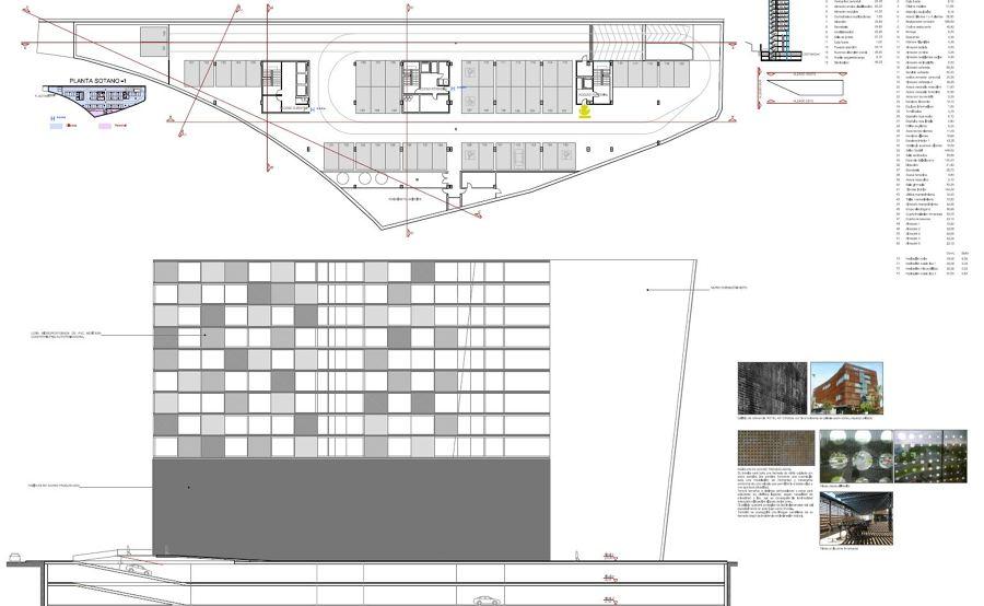 Foto garajes y alzado de arquitectura y construccion - Alzado arquitectura ...