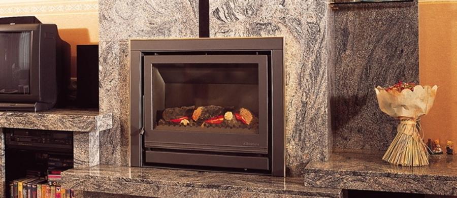 Chimeneas y estufas de gas calor seguro limpio y a bajo - Estufa de calor ...