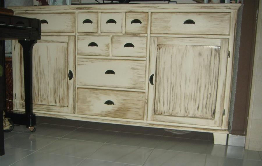 Consejos para pintar con la t cnica de pintura envejecida - Tecnicas de pintar muebles ...