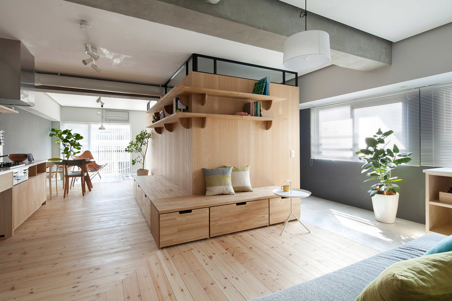 Apartamento estilo japonés