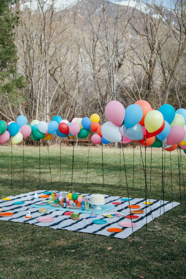 Globos para fiesta cumpleaños