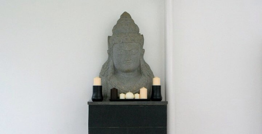 Gran busto de Shiva