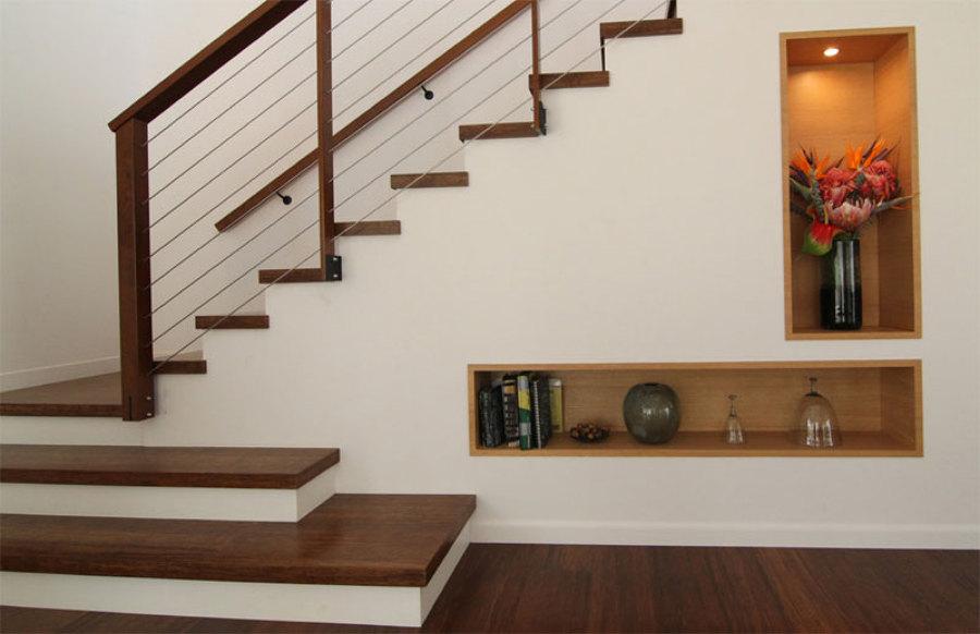 Gran entrada de escalera