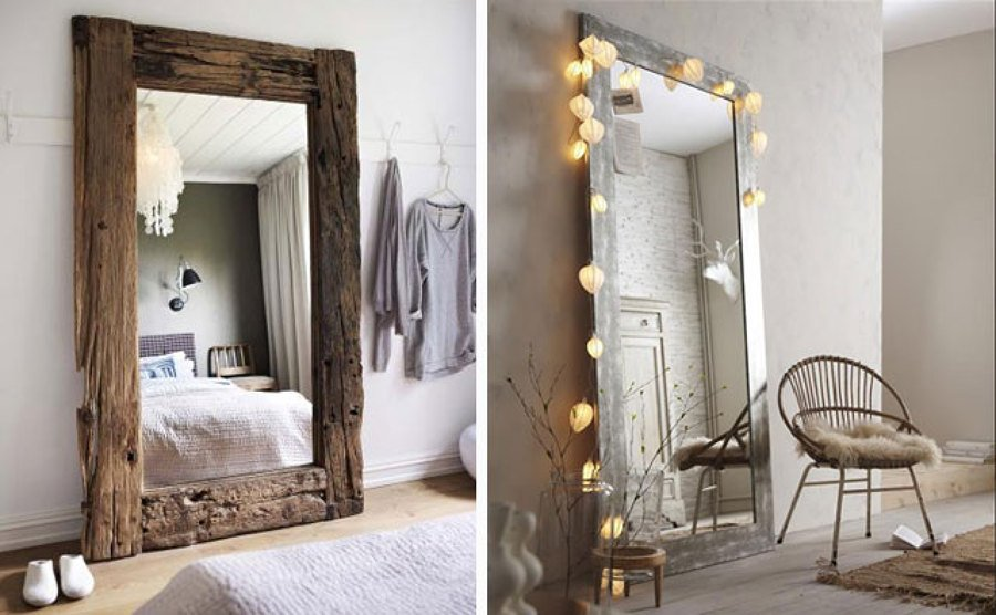 Trucos para limpiar los espejos de casa ideas limpieza - Espejos grandes para salon ...