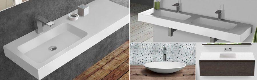 Gran variedad de lavabos y muebles