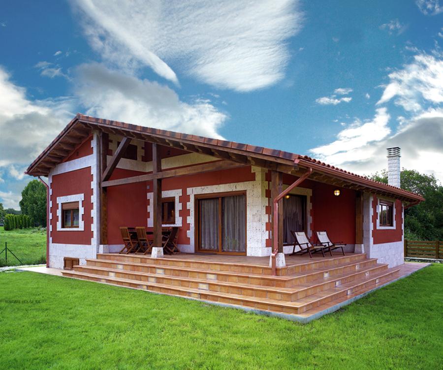 Foto gran villa de grupo eurocasa modular 1201217 habitissimo - Casas rurales lugo baratas ...