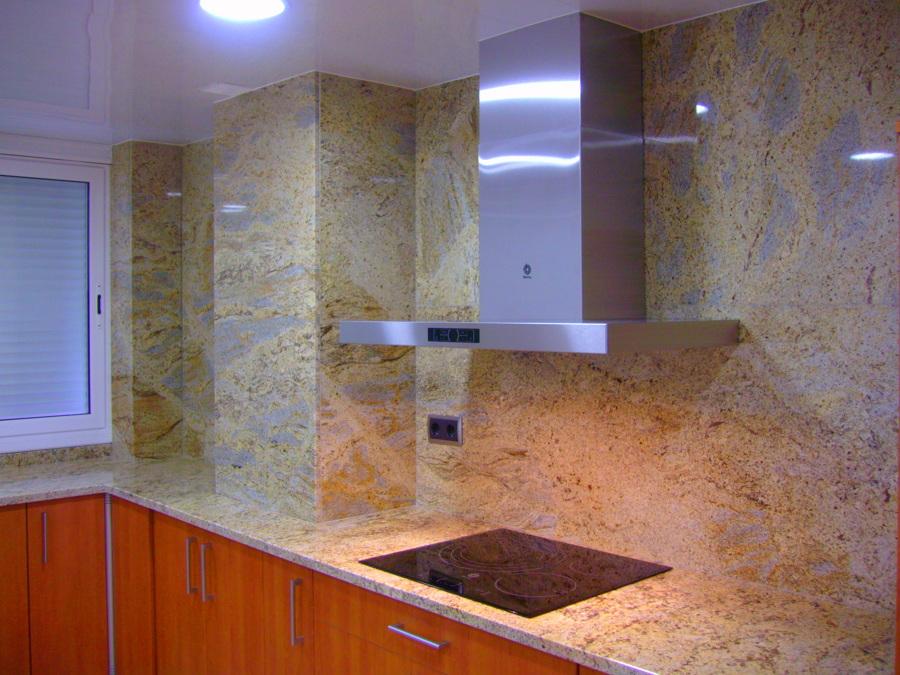Cocinas realizadas en granito ideas marmolistas for Granito importacion