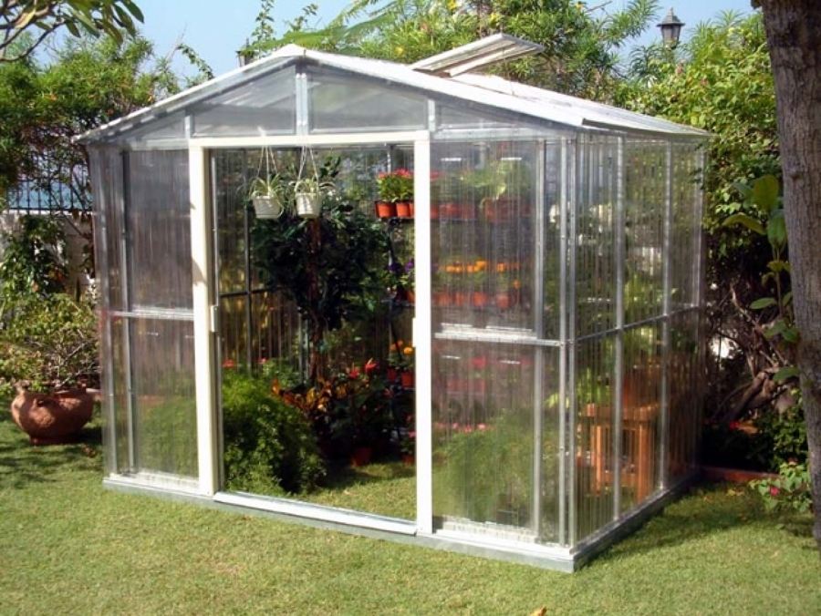 C mo crear un peque o invernadero en nuestro jard n o - Invernadero en terraza ...