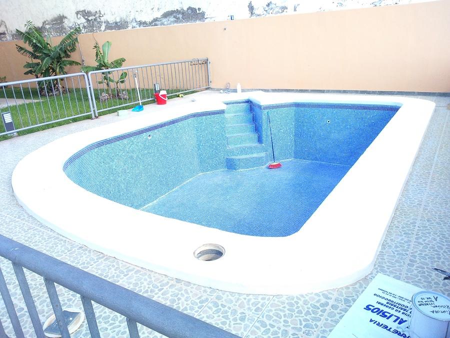 Foto gresite vaso piscina de reformas integrales canarias for Vaso piscina