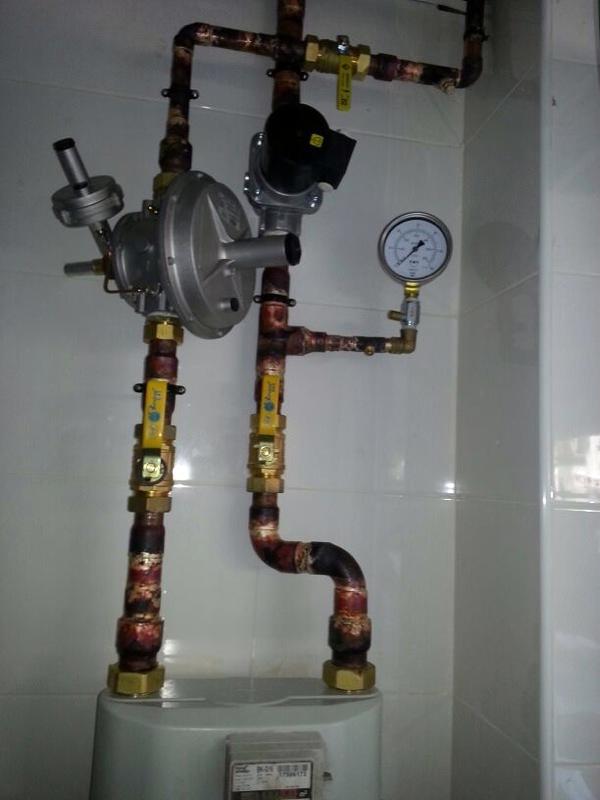 Instalaci n de gas en un restaurante con proyecto ideas gas for Instalacion cocina industrial