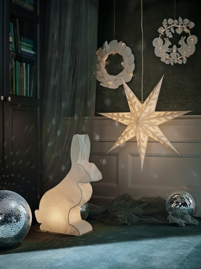 Guirnaldas luminosas colección NAVIDAD IKEA