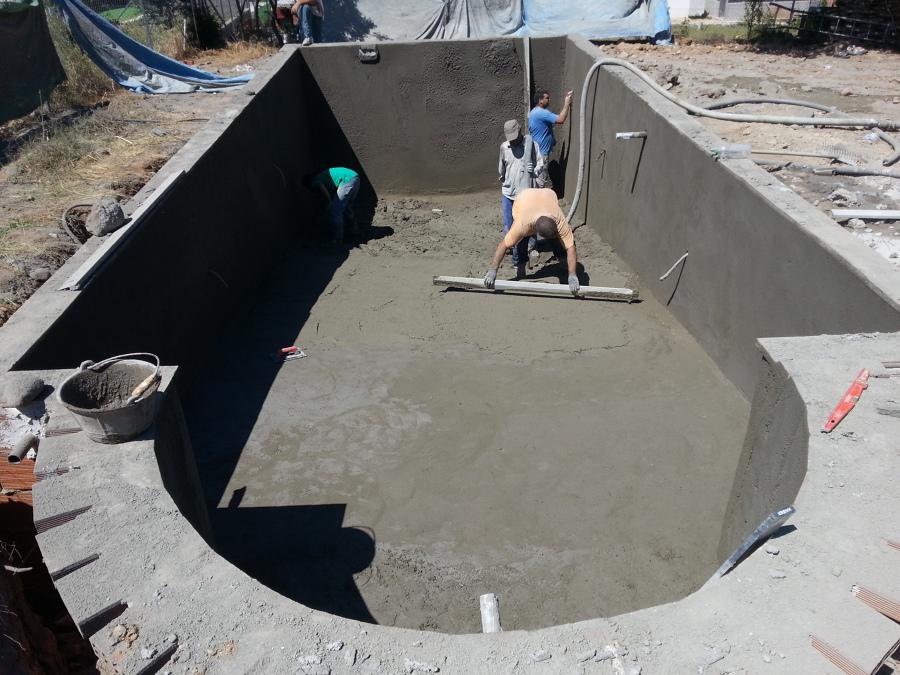 Gunitar piscina
