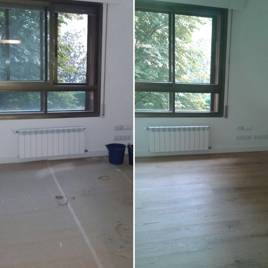 Habitación antes/desp