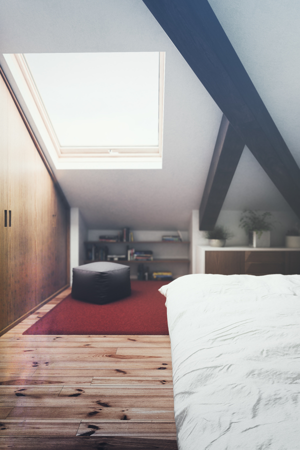Habitación bajo cubierta