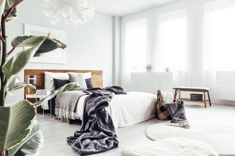 Habitación con alfombras