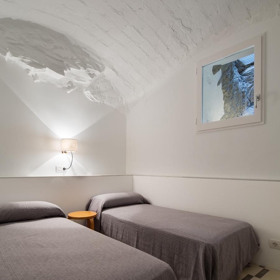 Habitación con aspecto de cueva