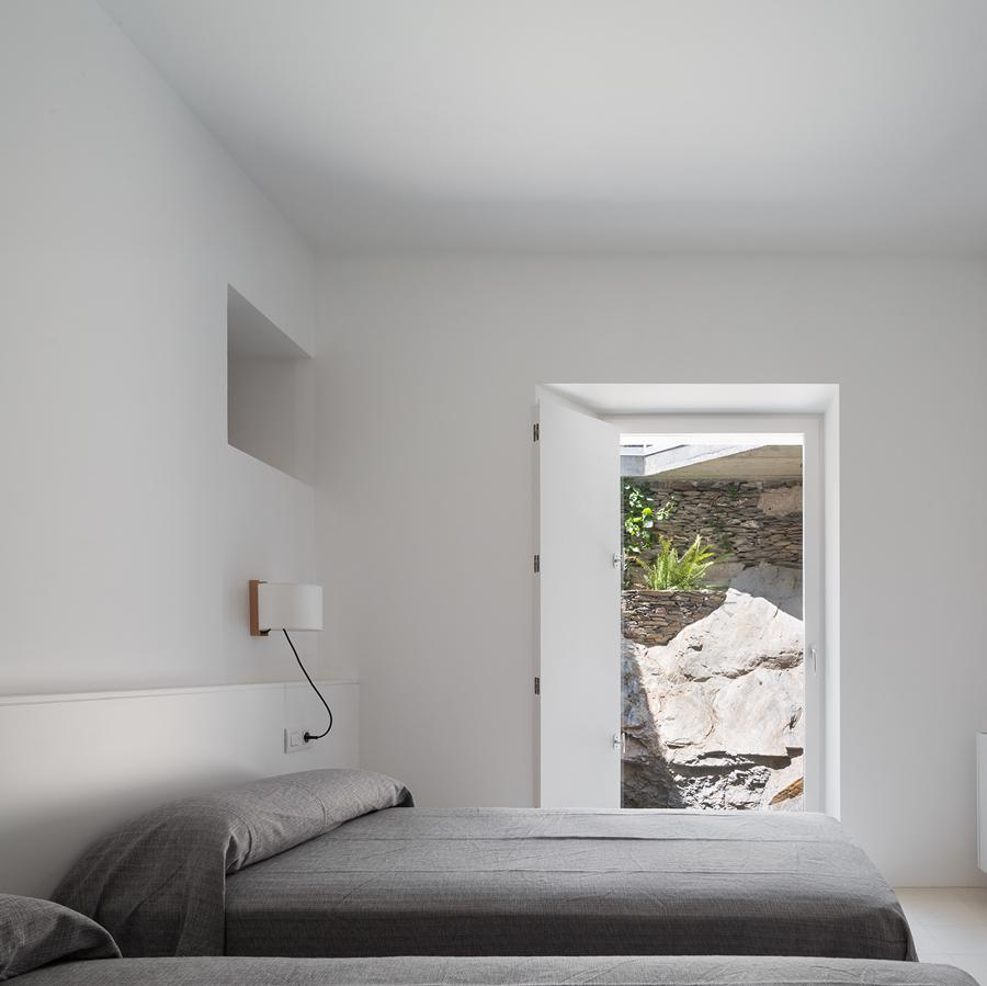 Habitación con salida exterior