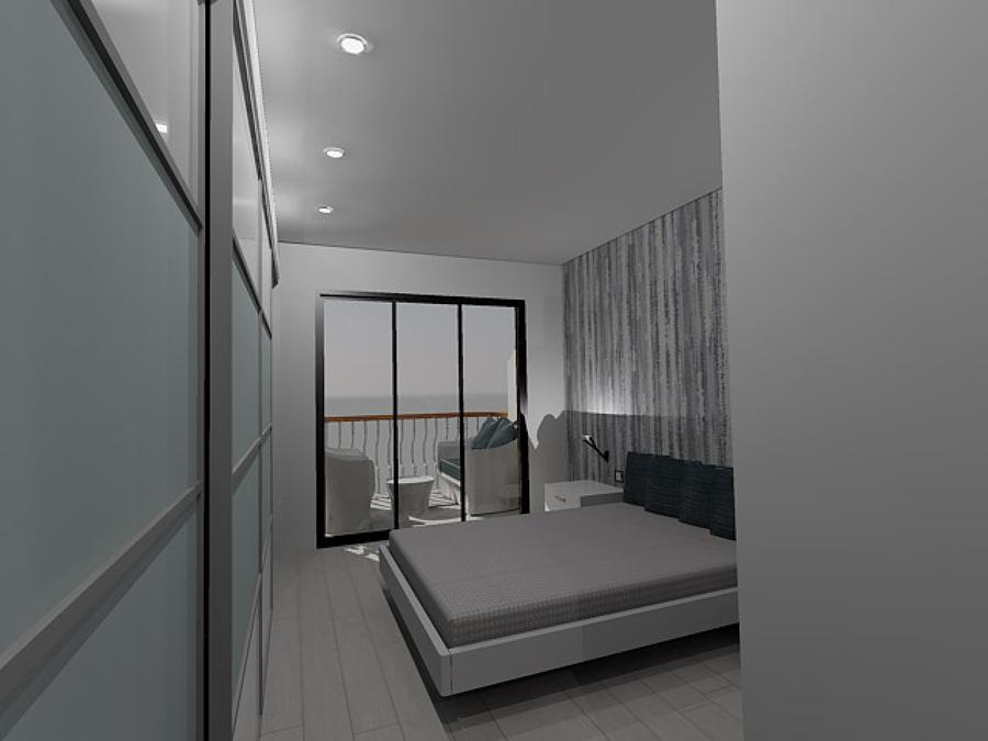 Habitación de matrimonio en 3D