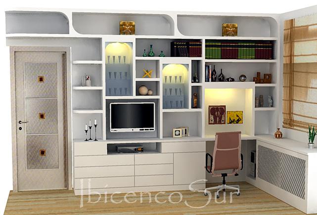 Foto habitacion escritorio de ibicencos cb 437055 - Escritorio para habitacion ...