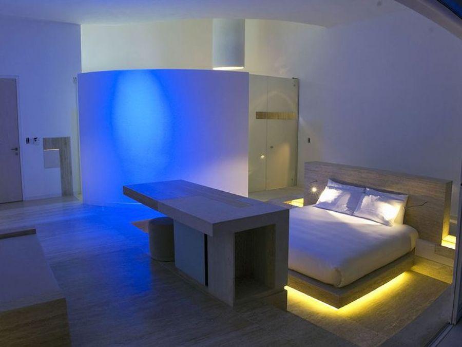 Habitación futurista