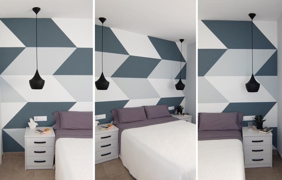 Habitación geométrica