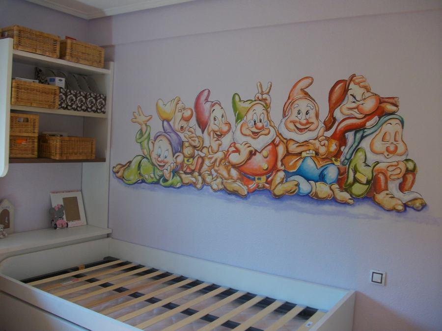 Mural juvenil ideas pintores for Mural habitacion juvenil