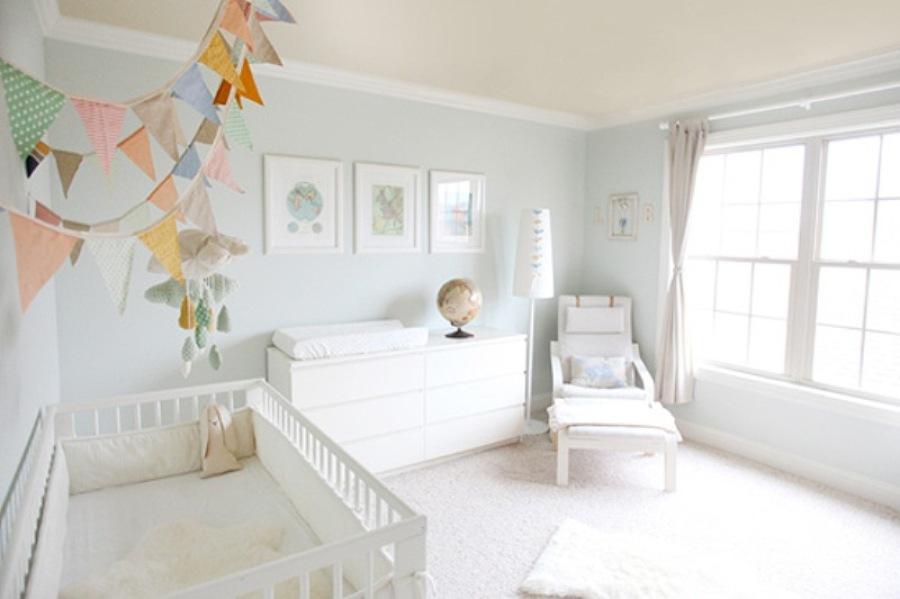 habitación infantil blanco