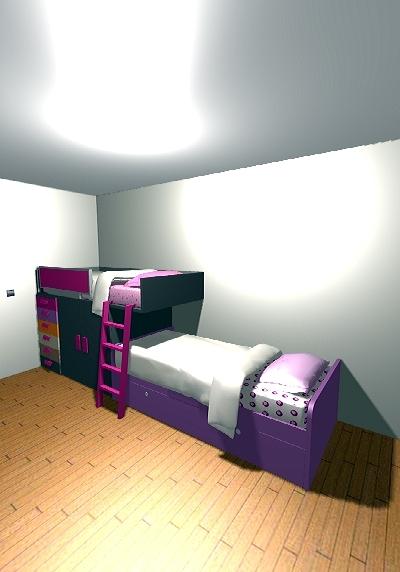 Foto habitacion juvenil conjunto tren de area 78 - Habitacion tren juvenil ...