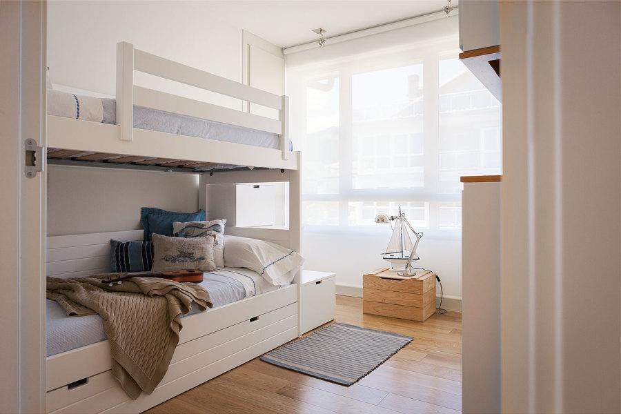 Habitación juvenil II con litera.
