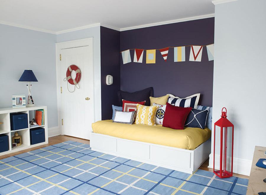 C mo decorar una habitaci n juvenil n utica ideas for Articulos decoracion nautica