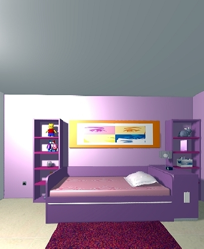 Salon comedor habitaciones juveniles proyectos muebles for Comedor juvenil