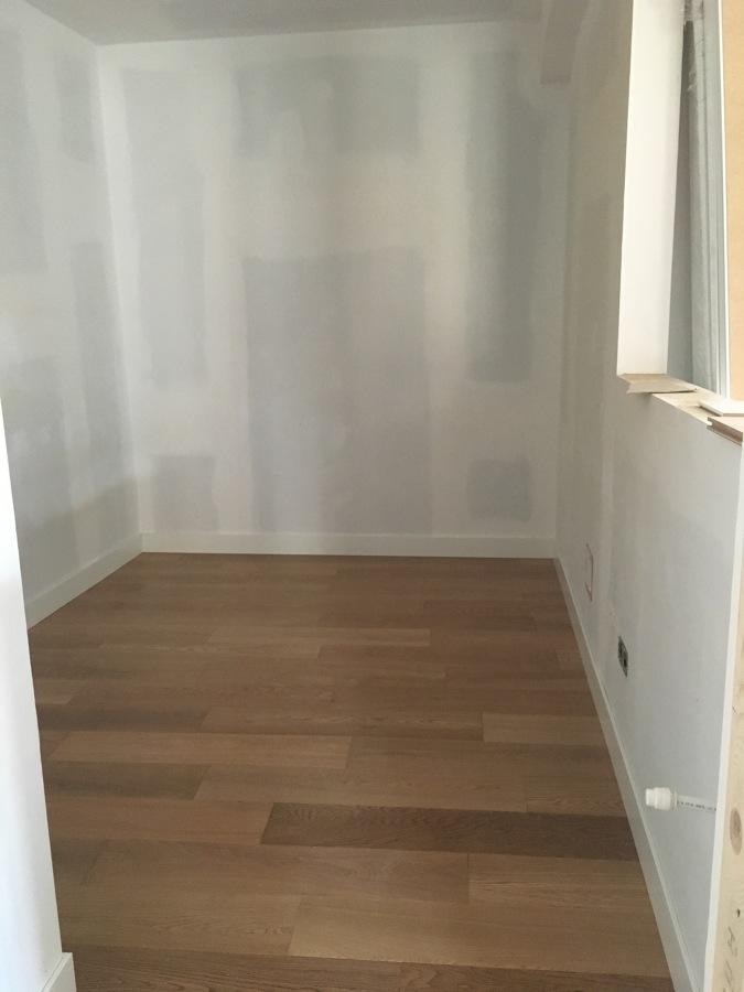 Habitación preparada para pintar