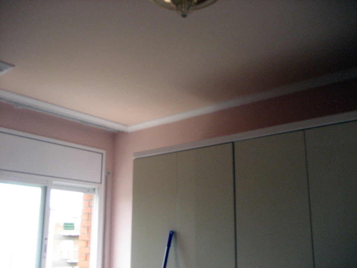 Habitación principal pintada