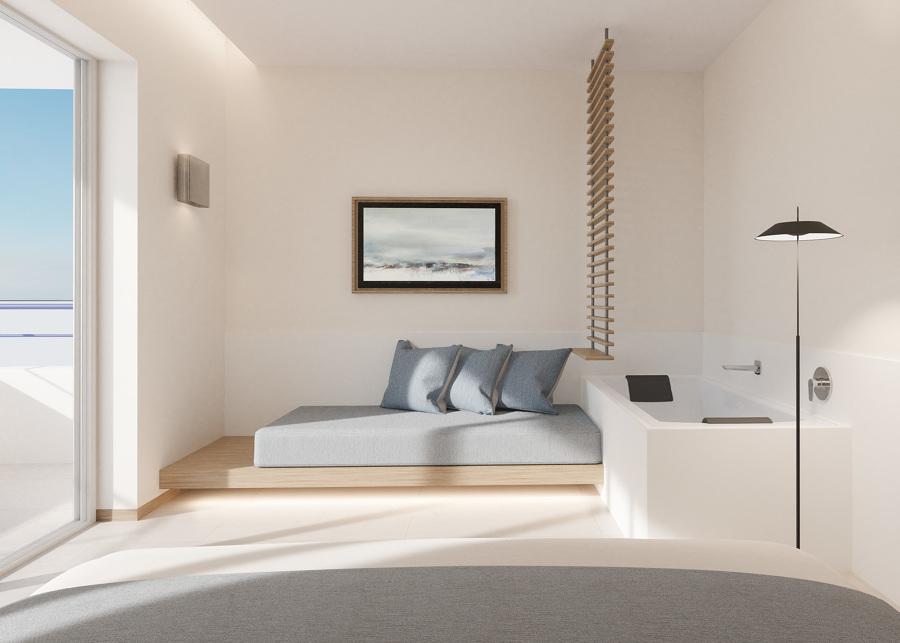 Habitación semisuite