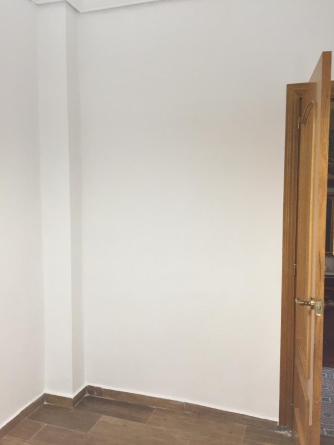 Habitación terminada a falta del armario