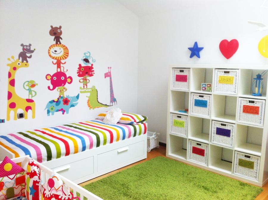 Foto habitaciones infantiles 986182 habitissimo - Habitaciones infantiles decoracion paredes ...