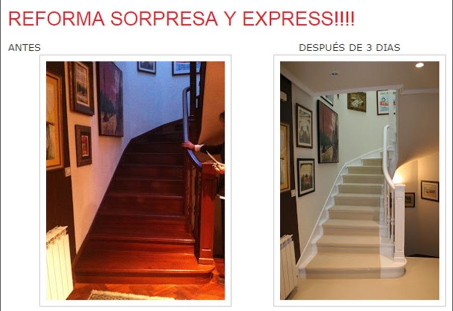 Reforma sorpresa express ideas reformas viviendas for Reforma express