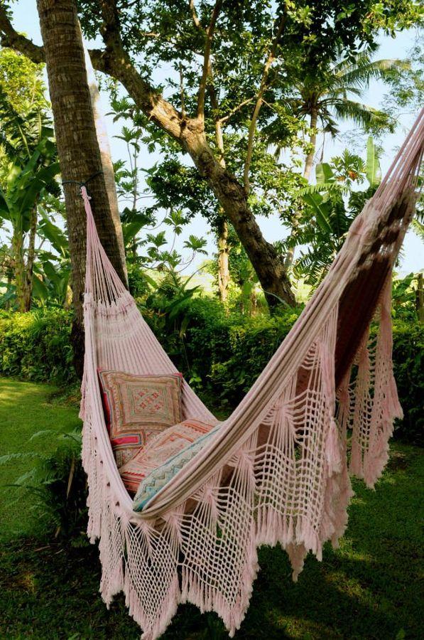 Hamacas para relajarte como te mereces este verano ideas - Hamacas y tumbonas ...