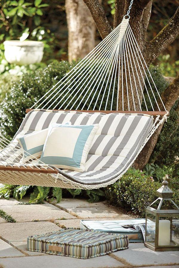 Hamacas para relajarte como te mereces este verano ideas - Hamacas para jardin ...