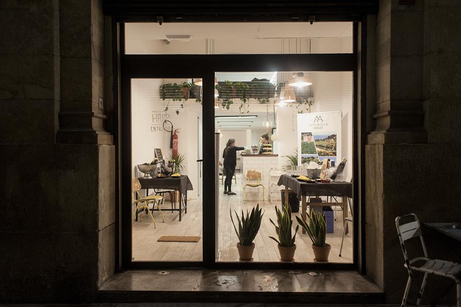 Happ Barcelona. Proyecto vegetal para concept store