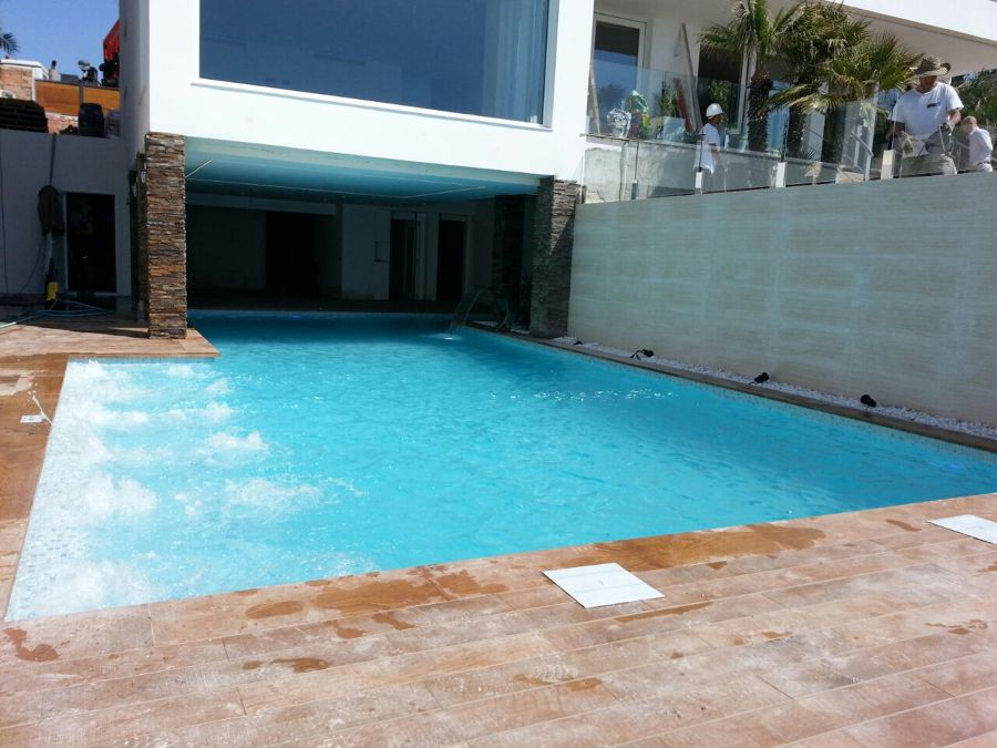 Hidro masaje piscina