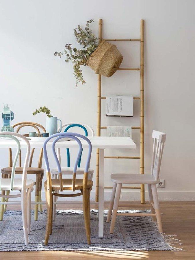 7 escaleras que te ayudar n a subir la cuesta de enero for Escaleras de madera para decorar