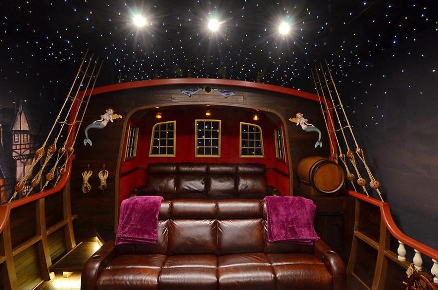 12 cines alucinantes para tener en casa ideas art culos - Fotos salas de cine en casa ...