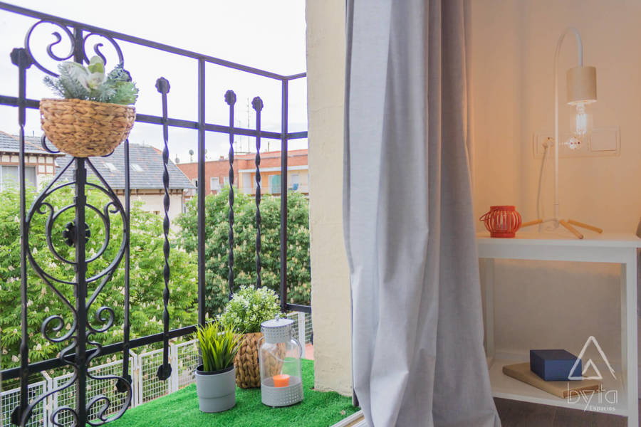 Home staging apartamento alquiler turístico, Puerta del Angel 2, Madrid