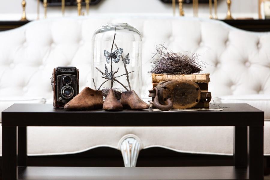 hormas de zapato decoración
